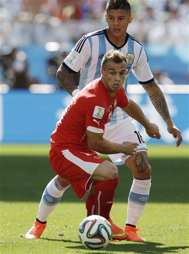 Brazil Soccer 2014 WCup Argentina Switzerland