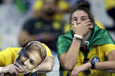 Brazil Soccer WCup Brazil Germany