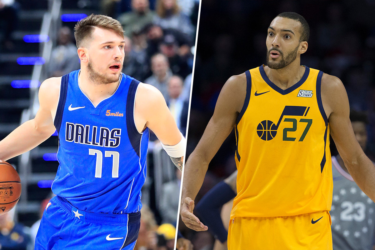 Who was the bigger NBA All-Star snub: Luka Doncic or Rudy Gobert?