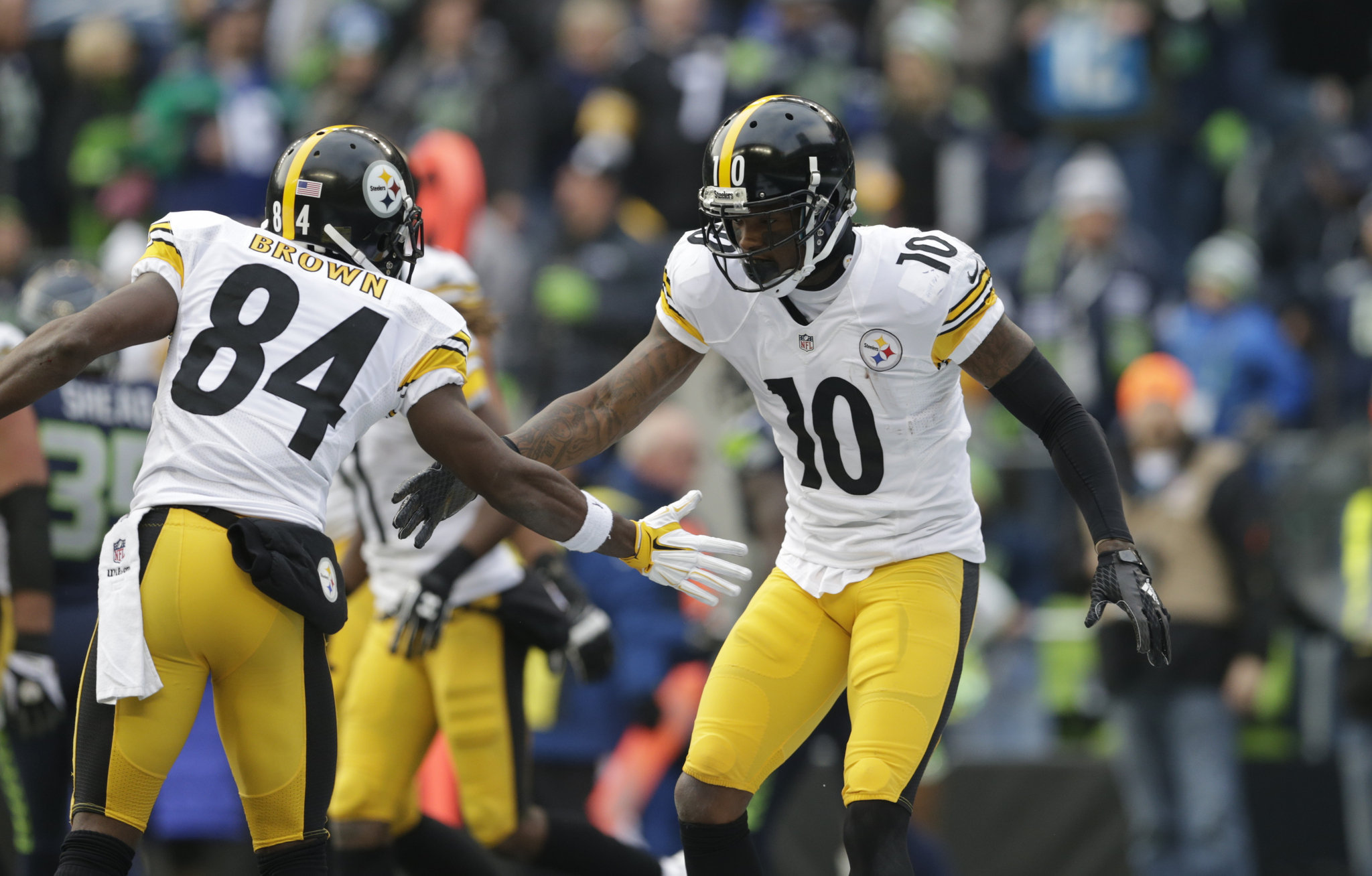 How Antonio Brown and Martavis Bryant pare to the WRs ranked