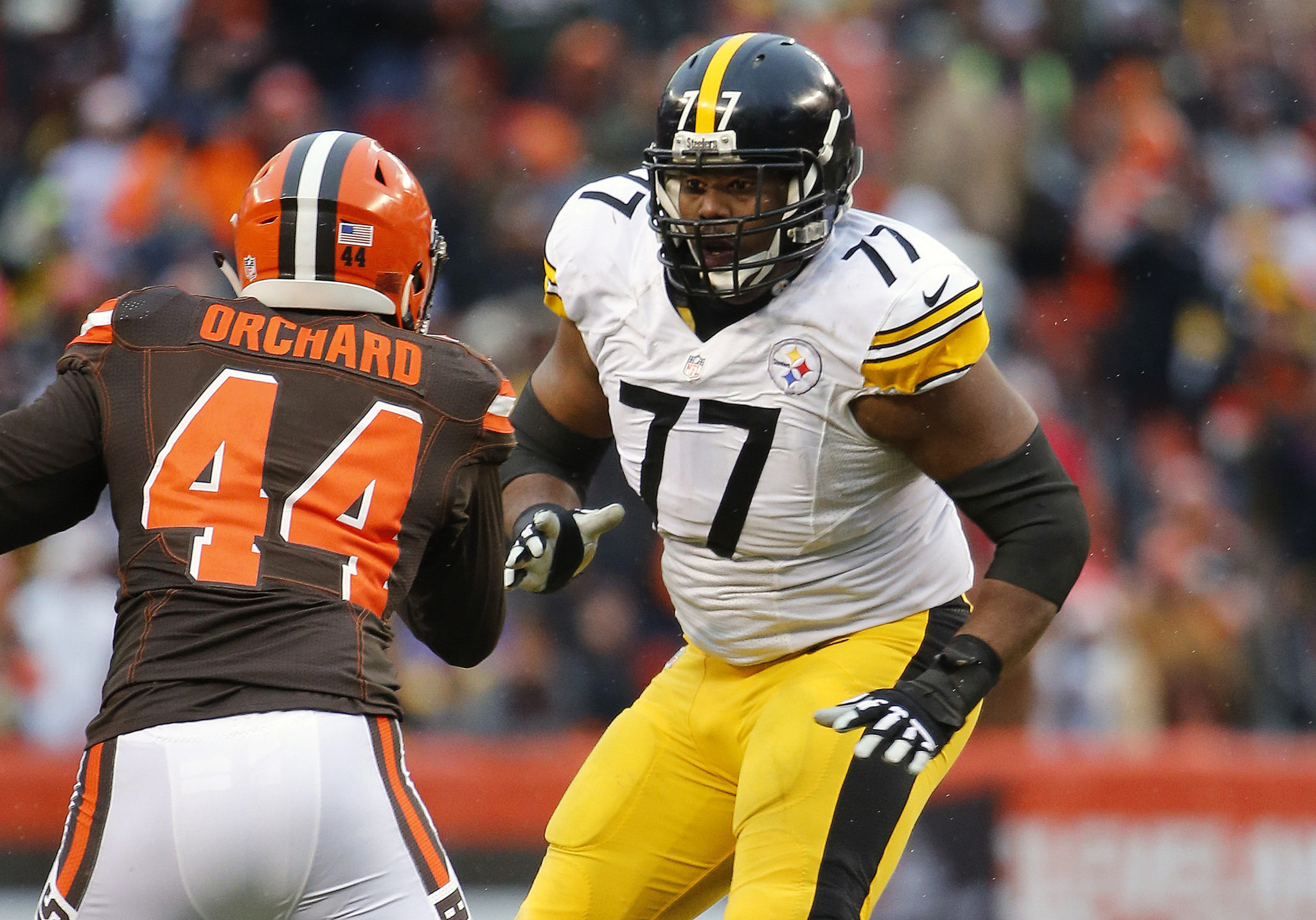 Pittsburgh Steelers OT Marcus Gilbert facing lawsuit