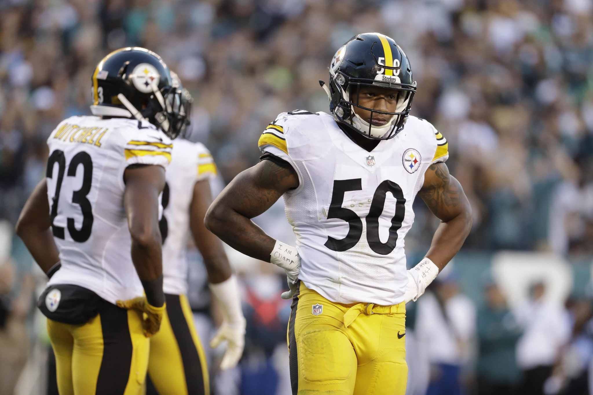 Ryan Shazier limited by shoulder other Steelers injuries