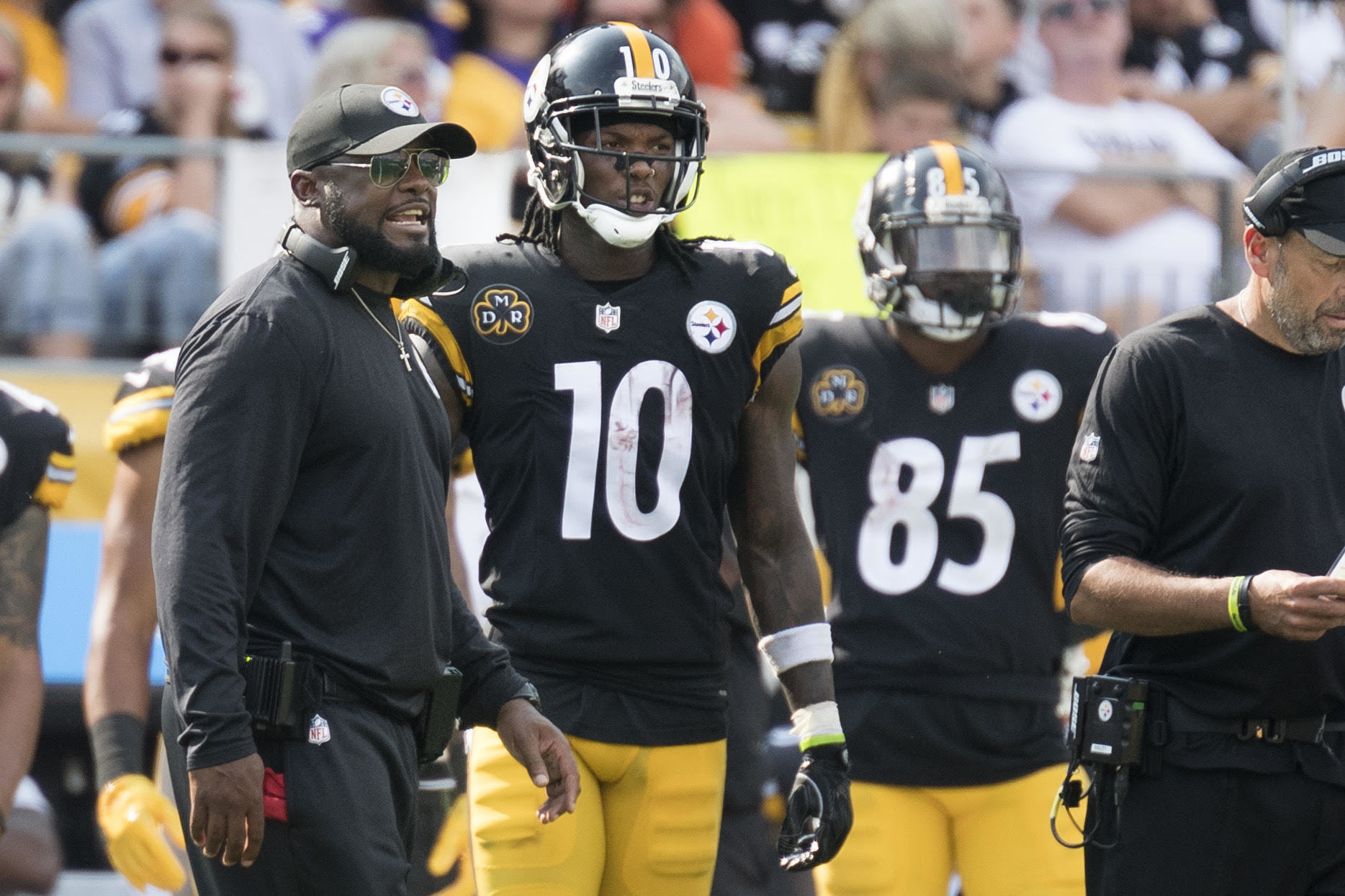 Martavis Bryant talks his meeting relationship with Mike Tomlin
