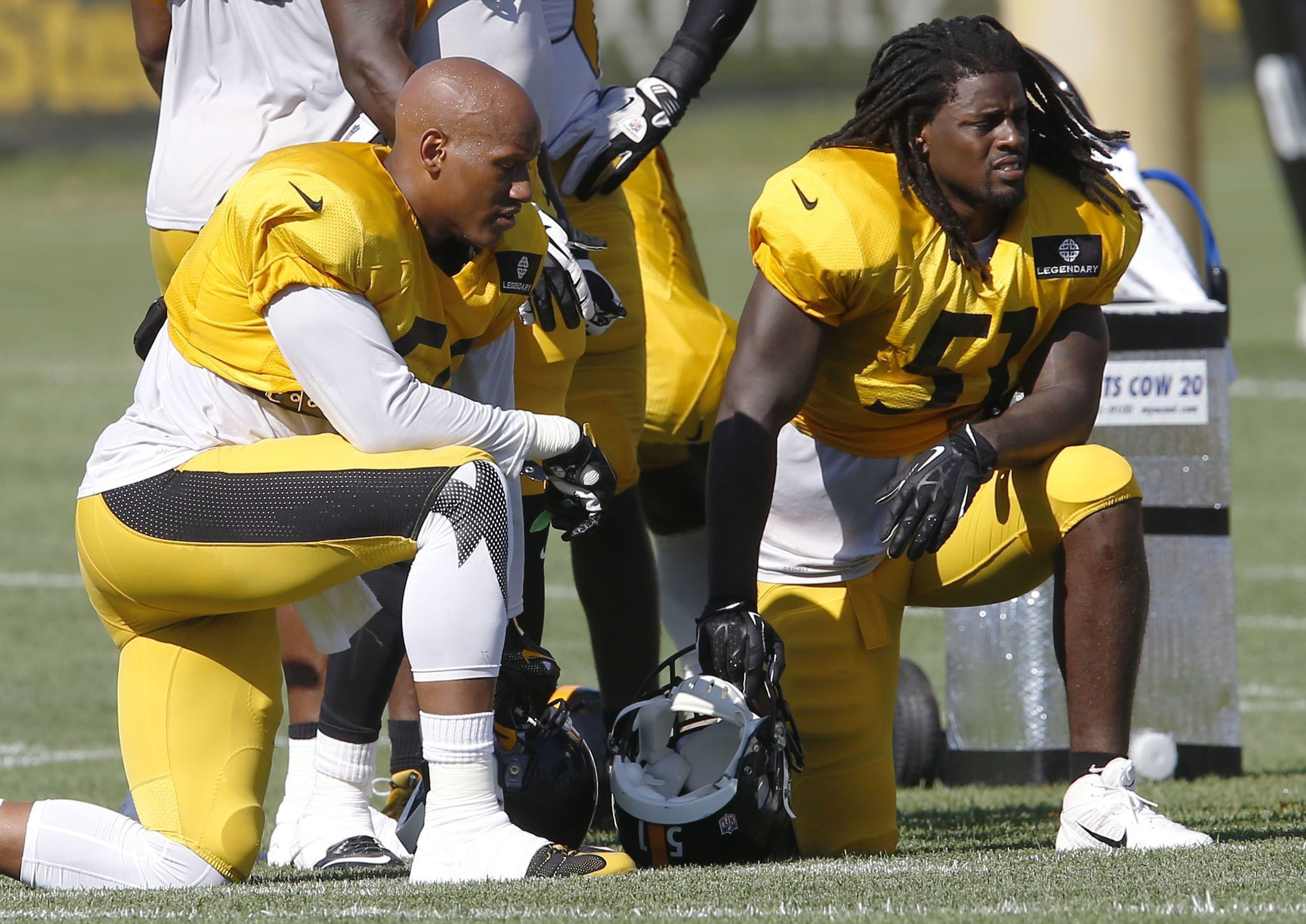 Sean Spence rejoins the Steelers blessed but missing Ryan