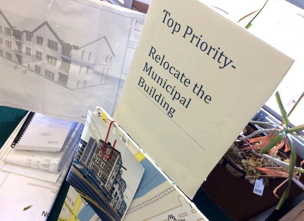 Relocating the municipal building is listed as a top priority among the projects in the office of Phillipsburg Mayor Stephen Ellis. (Steve Novak | For lehighvalleylive.com)